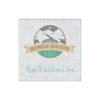 Imán de mármol del bingo