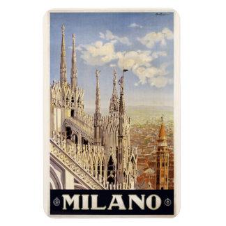 Imán de Milano Milano Italia del vintage