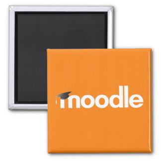 Imán de Moodle: Naranja