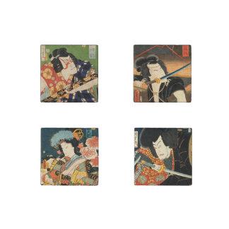 Imán De Piedra Actores japoneses (impresión del japonés del