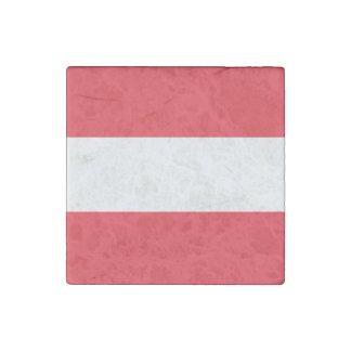Imán De Piedra Bandera austríaca patriótica