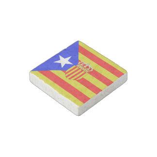 Imán De Piedra Bandera de Cataluña