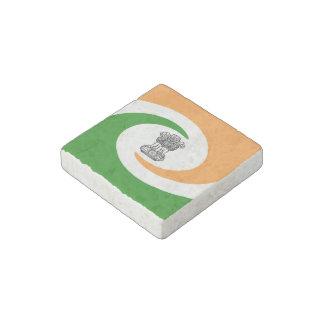 Imán De Piedra Bandera espiral india