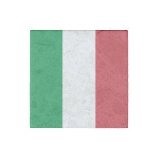 Imán De Piedra Bandera italiana patriótica
