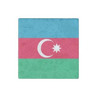 Imán De Piedra Bandera patriótica de Azerbaijan
