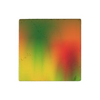Imán De Piedra Chapoteo de Rasta del color