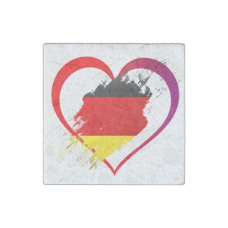 Imán De Piedra Corazón de Alemania