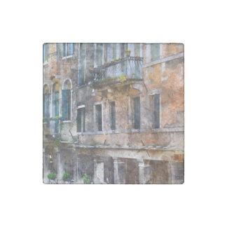 Imán De Piedra Edificios de Venecia Italia