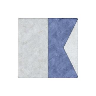 Imán De Piedra Elija a partir de 26 banderas marítimas náuticas