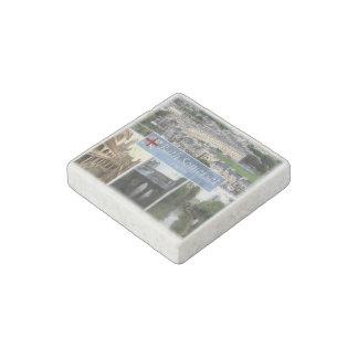 Imán De Piedra GB Inglaterra - baño Somerset - abadía del baño -