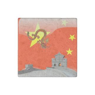 Imán De Piedra Gran Muralla de China