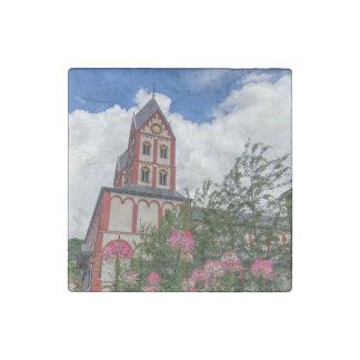 Imán De Piedra Iglesia de St Bartholomew, Lieja, Bélgica