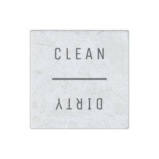 Imán De Piedra Limpie sucio