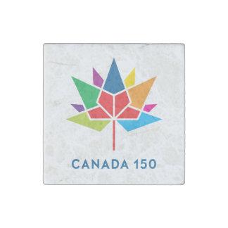 Imán De Piedra Logotipo del funcionario de Canadá 150 -