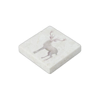 Imán De Piedra Macho blanco