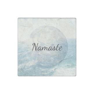 Imán De Piedra Océano de la tierra de Namaste