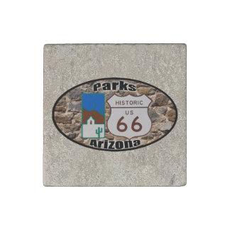 Imán De Piedra Parques históricos Arizona de la ruta 66 de los