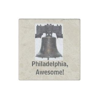 Imán De Piedra ¡Philadelphia, impresionante! /Imán de Liberty