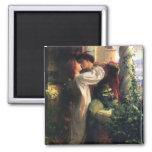 Imán de sir Frank Dicksee, de Romeo y de Juliet