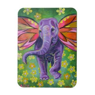 Imán decorativo del arte del elefante