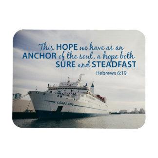 Imán del 6:19 de los hebreos