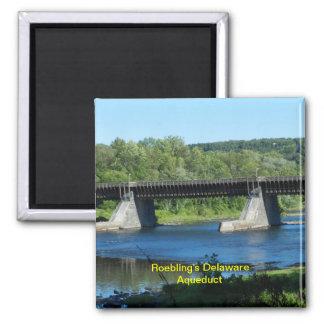 Imán del acueducto de Delaware de Roebling