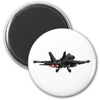 Imán del avión de combate del avispón F/A-18
