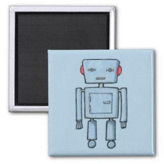 Imán del azul del robot del juguete