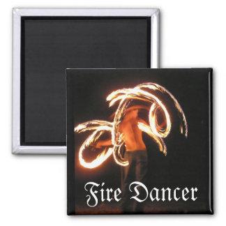 Imán del bailarín del fuego