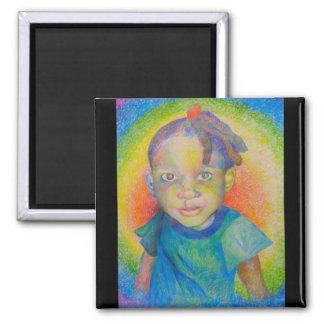 Imán del bebé del arco iris