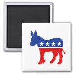 Imán del burro de Demócrata