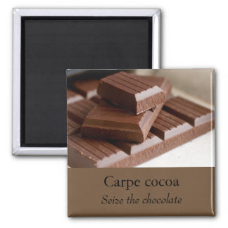 Imán del chocolate