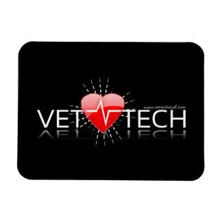 imán del coche de la tecnología del veterinario