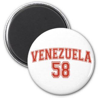 Imán del código de país de Venezuela