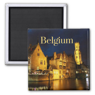 Imán del coleccionable de Bélgica