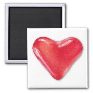 Imán del corazón 2 del caramelo