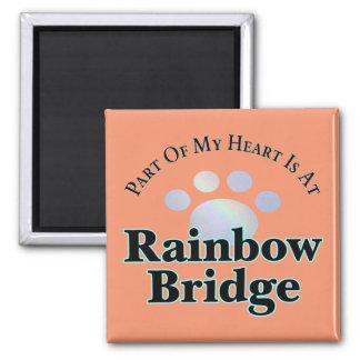 Imán del cuadrado de la pata del puente del arco