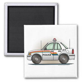 Imán del cuadrado del coche del poli del coche del