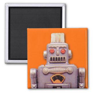 Imán del cuadrado del robot del juguete