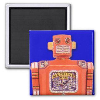 Imán del cuadrado del robot del juguete del hombre