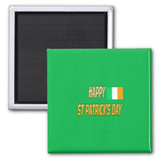 imán del día de St Patrick feliz