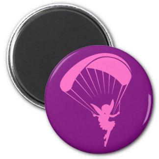 Imán del duendecillo del Paragliding
