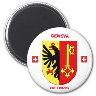 Imán del escudo de armas de Ginebra