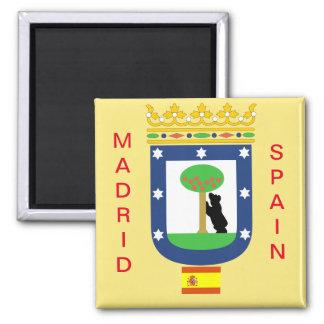 Imán del escudo de armas de Madrid