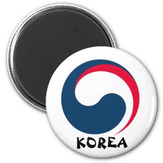 Imán del escudo de la Corea del Sur