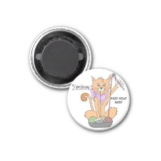 Imán del gato de Yarnivore