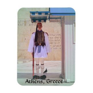 Imán del guardia presidencial de Atenas