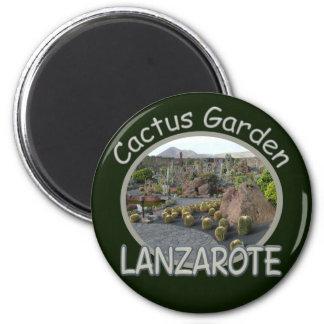 Imán del jardín del cactus