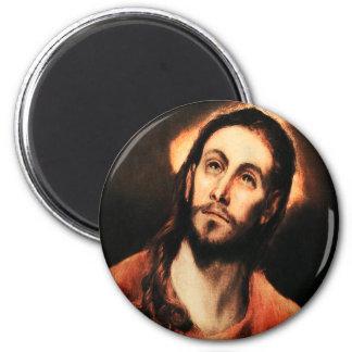 Imán del Jesucristo de El Greco