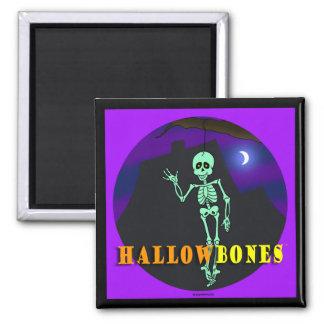 Imán del logotipo de la tienda de HALLOWBONES